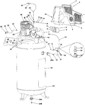Coleman CL7008017 Breakdown