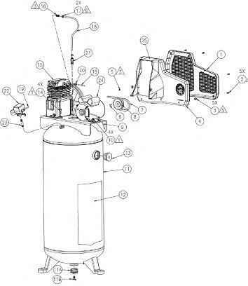 coleman air compressor pressure switch coleman powermate