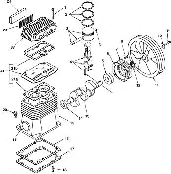 Coleman ML0502713 Pump Breakdown
