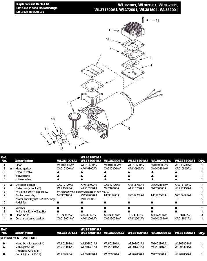 V wiring diagram air compressor share the knownledge