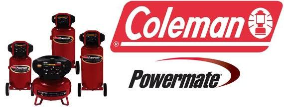 Coleman Powermate Air Compressor Parts, Breakdowns & Manuals