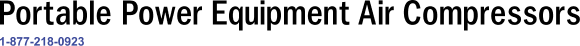 Portable Power Equipment Air Compressors